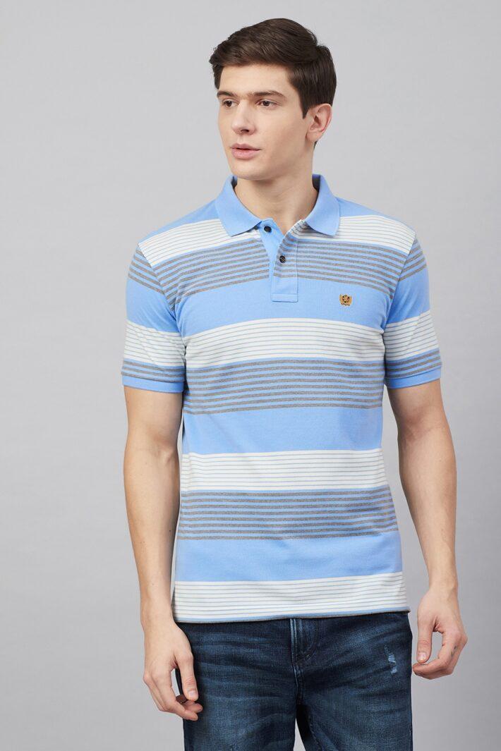 Fahreneit Multi Stripe Polo Shirt