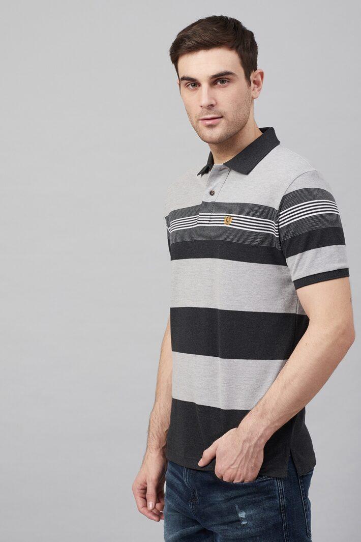 Fahrenheit Stripe Polo
