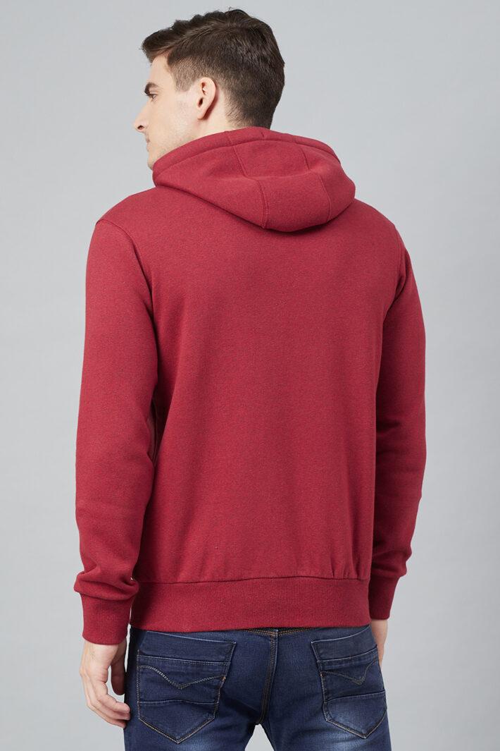 Fahrenheit Hooded Fleece Sweatshirt Red