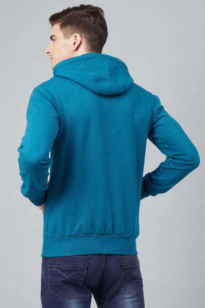 Fahrenheit Hooded Fleece Sweatshirt Blue