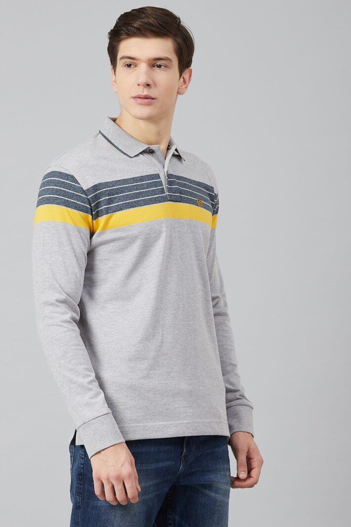 Fahrenheit Chest Stripe Polo