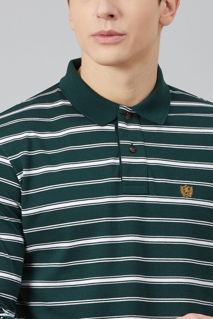 Fahrenheit Feeder Stripe Polo Shirt