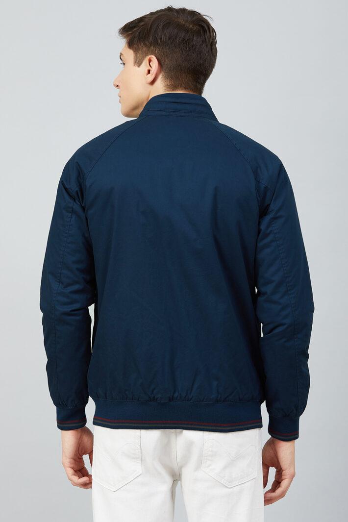 Fahrenheit Solid Cotton Jacket Blue