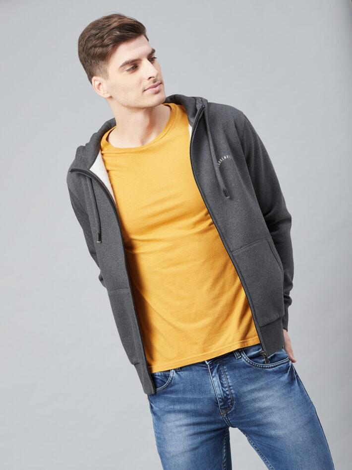 Fahrenheit Hooded Fleece Sweatshirt Black